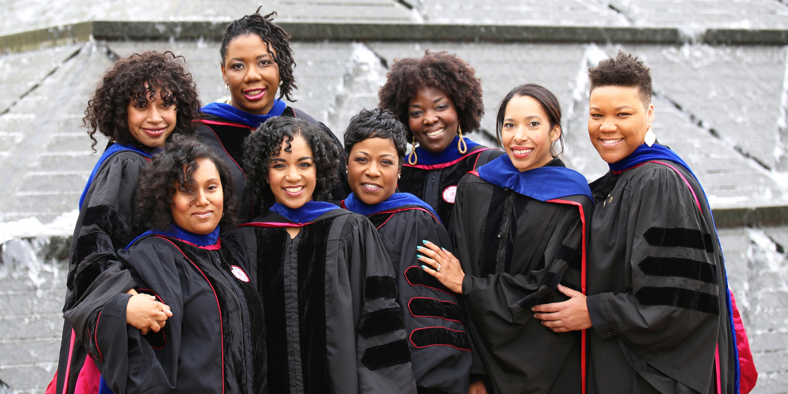 the great eight african american women who earned Ph.D's from Indiana University