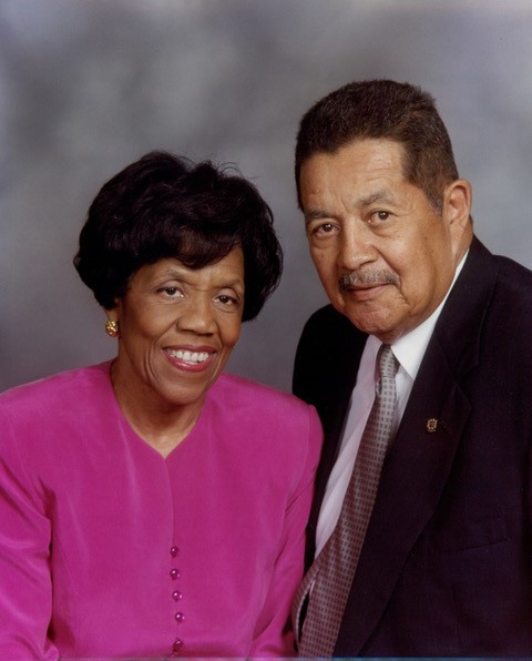 Wilma A. and Charles E. Harry